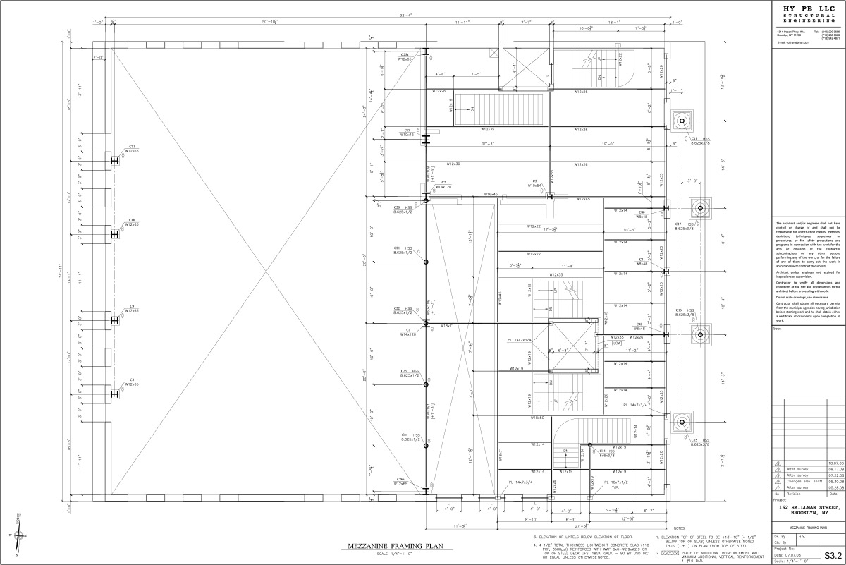 162 skillman street hy pe engineering llc residential for 162 plan