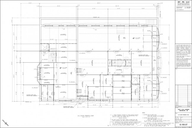 4620-1st-Floor-Framing-Plan