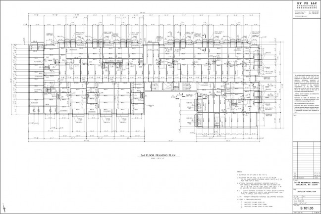 76-2nd-Floor-Framing-Plan