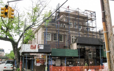 The project on 1329 East 17th Street was a six-story mixed residential and commercial space.